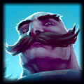 Braum is good with Graves