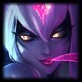 Evelynn counters Fiora