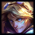 Ezreal is good with Soraka