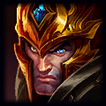 Jarvan IV is good with Garen