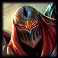 Zed is good with Shen